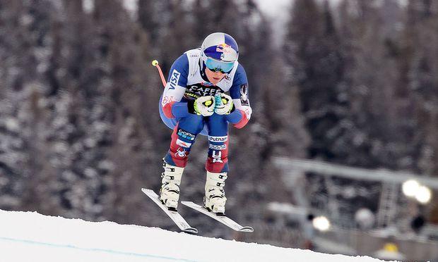 Ski alpin: Vonn siegt in Aare, Abfahrtskugel an Goggia