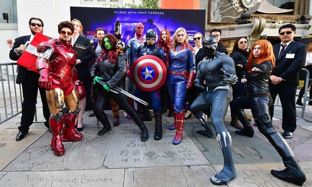"""Rekord: """"Avengers: Endgame"""" hat knapp 2,8 Milliarden Dollar in den Kinos eingespielt"""