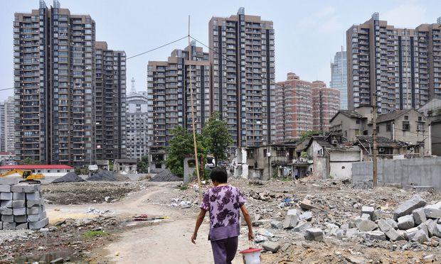 In China sind zuletzt die Immobilienpreise stark gestiegen.