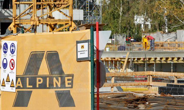 Baukonzern Alpine wankt bedrohlich