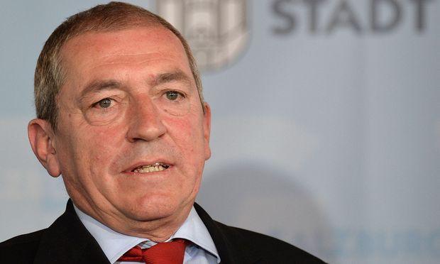 Bürgermeister Heinz Schaden