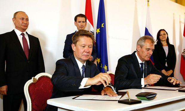 Das freundschaftliche Nahverhältnis von OMV und Gazprom behagt den Norwegern nicht