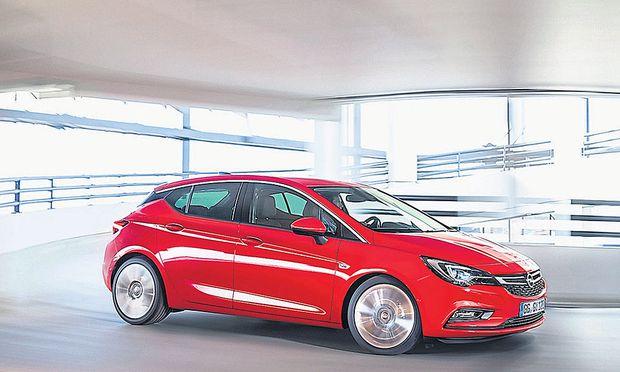 Die elfte Generation rollt auf die Straße: Opel Astra.