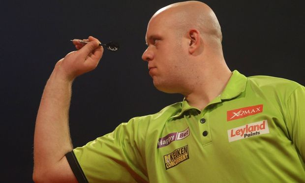 Sindelfingen Happy Bet European Darts Grand Prix Michael van Gerwen NED