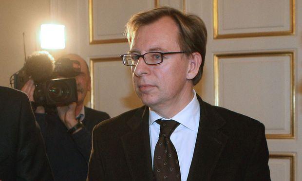 Wirtschaftslandesrat Christian Buchmann auf Archivbildern aus dem Jahr 2008