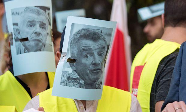 Deutsche Ryanair-Mitarbeiter streiken