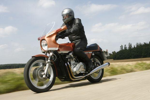 Prototyp der Z02: So nah kam Audi Anfang der 1970er dem eigenen Motorrad.
