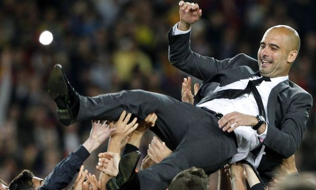 Pep Guardiola - Bayerns Trainer ab Sommer