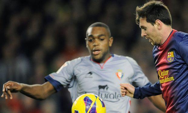Lionel Messi - nicht vom Ball zu trennen
