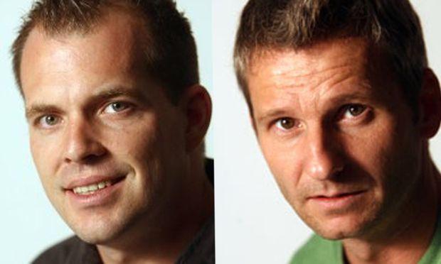 Rainer Fleckl und Erich Vogl