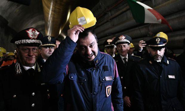 Mattteo Salvini macht EU-Wahlkampf ohne selbst dabei zur Wahl zu stehen.