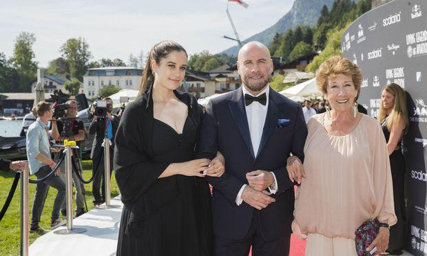 Tochter Ella Bleu, John Travolta und Schwester Ellen Bannon