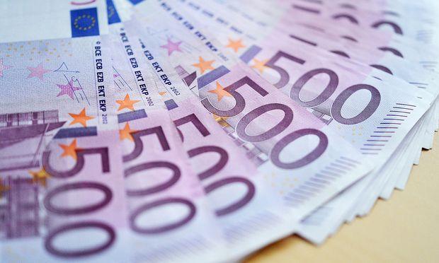 THEMENBILD: 500-EURO-GELDSCHEINE