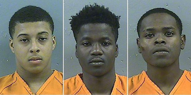 Die Tatverdächtigen: Dwan W., D'Allen W. und Byron M.