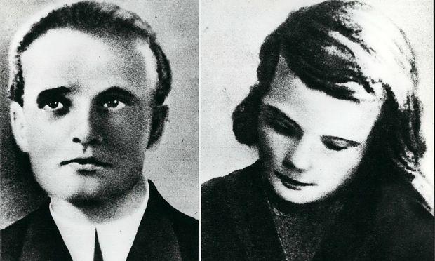 Hans und Sophie Scholl. / Bild: imago/ZUMA Press