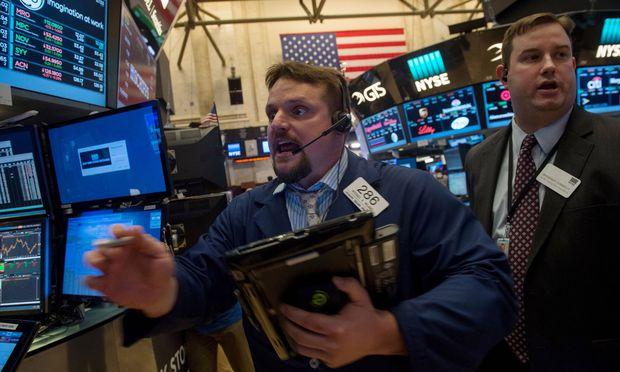 Börsianer brauchen gute Nerven – wie hier an der New York Stock Exchange.