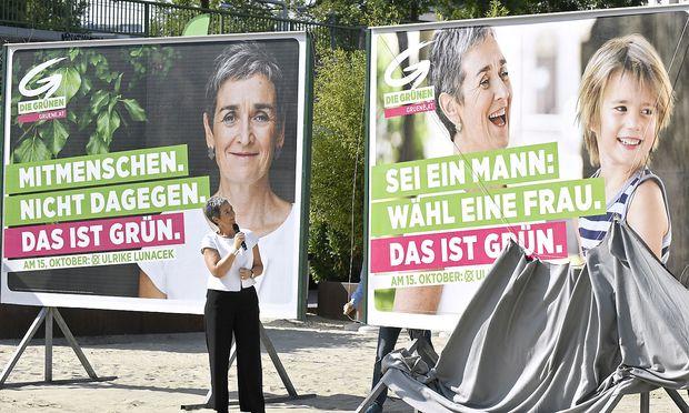 Grünen-Plakate