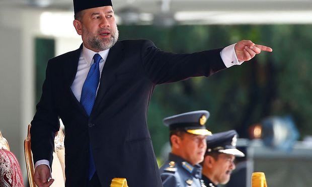 """Der malaysische König Muhammad V. will wieder """"einfacher"""" Sultan sein."""