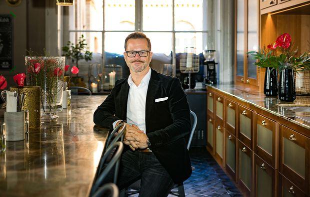 Bernhard Lehner ist Gründer des Start-up-Netzwerks Startup300.