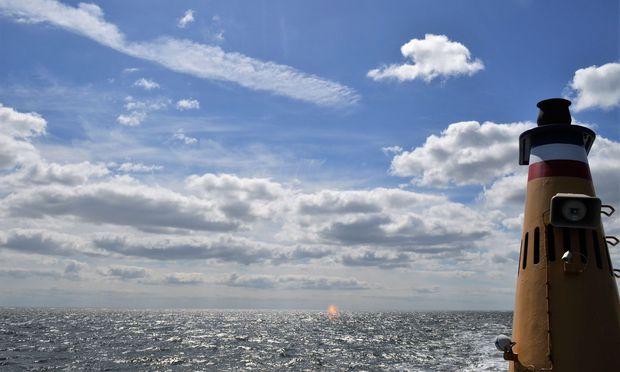 Herbstliche Strandromantik: Draußen rauscht die Nordsee.