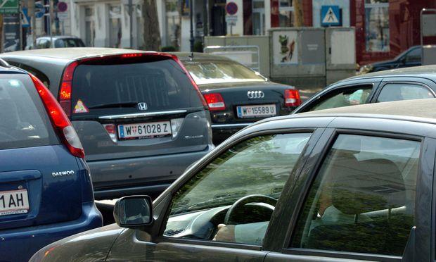 Stau in Wien