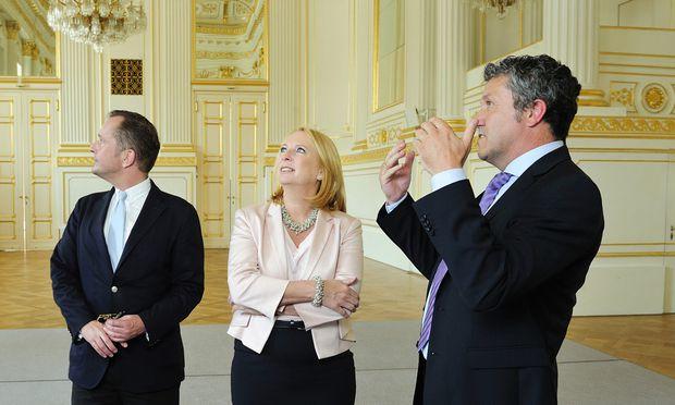 Übersiedlung des Parlaments in die Hofburg besiegelt
