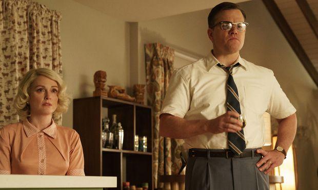 """Mustergültige Kleinbürger: Julianne Moore und Matt Damon in George Clooneys """"Suburbicon""""."""