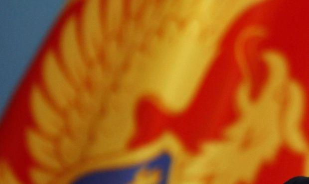 Archivbild: Die Flagge Montenegros