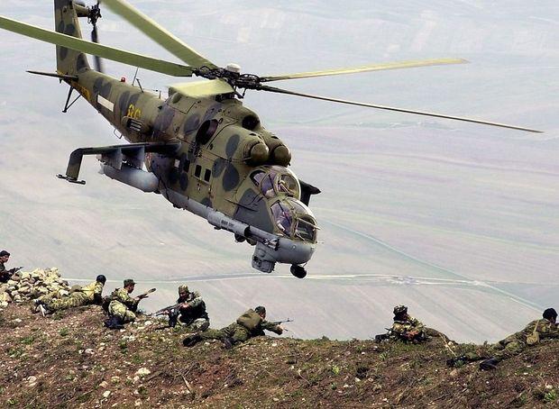 Russische Mi-24 in Syrien