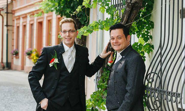 Herbert und Mathias Pfeffer