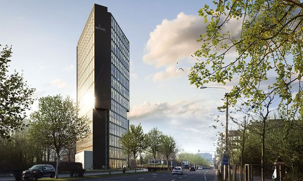 Ana Tower in Bukarest / Bild: Ana Tower Offices