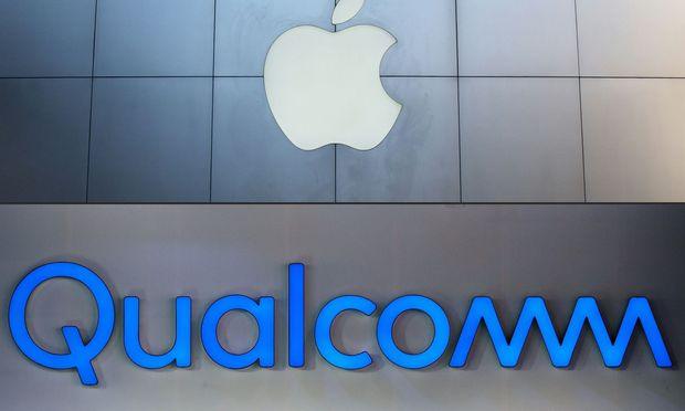 Qualcomm und Apple legten Patentstreit bei