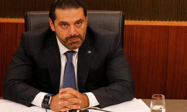 FILE PHOTO: Lebanon´s Prime Minister Saad al-Hariri attends a general parliament discussion in downtown Beirut