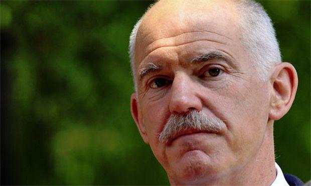 Papandreou sieht Griechenland Opfer