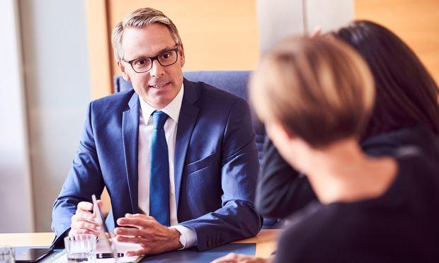 Wirtschaftsbund-Generalsekretär Rene Tritscher