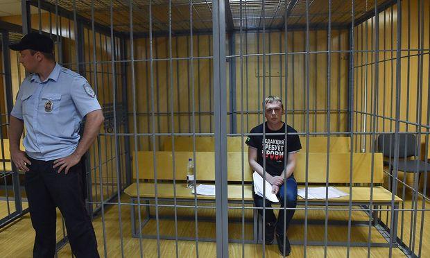 Es wird keine Anklage gegen Iwan Golunow geben.