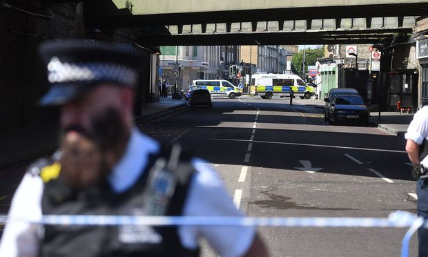 Der Tatort in London.