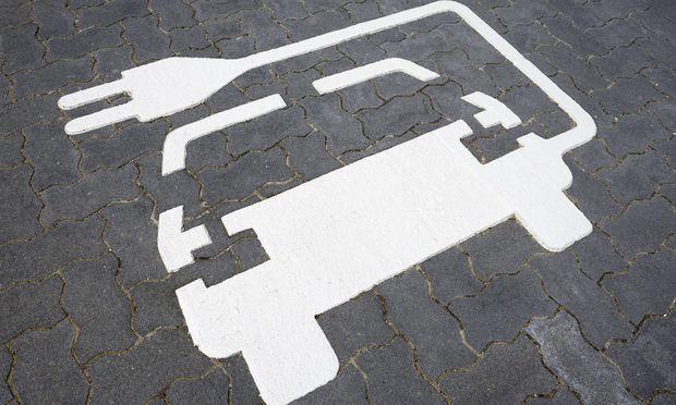 Aufladestation f�r Elektroautos