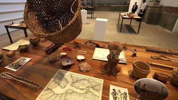 Humboldt-Ausstellung in Mexiko.