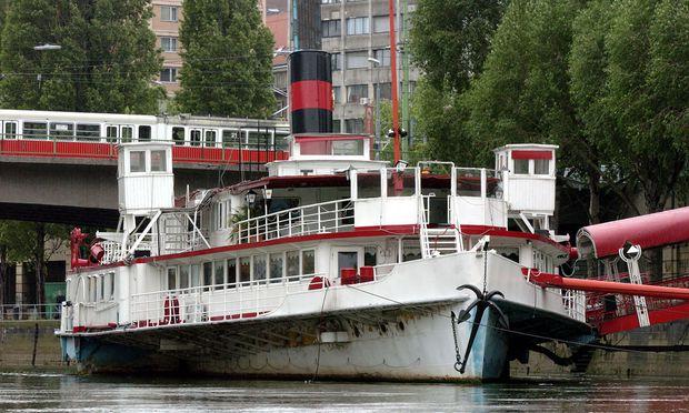 Schiff der DDSG
