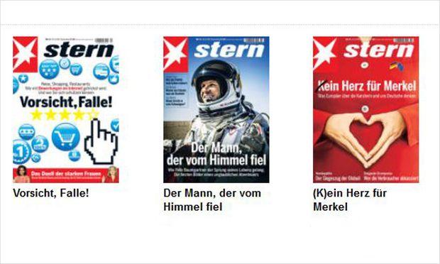 Magazin Stern will Frauenquote