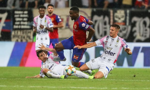 Fussball Champions League Qualifikationsrunde 3 19 20 FC Basel 1893 vs LASK 07 08 2019 Afimi