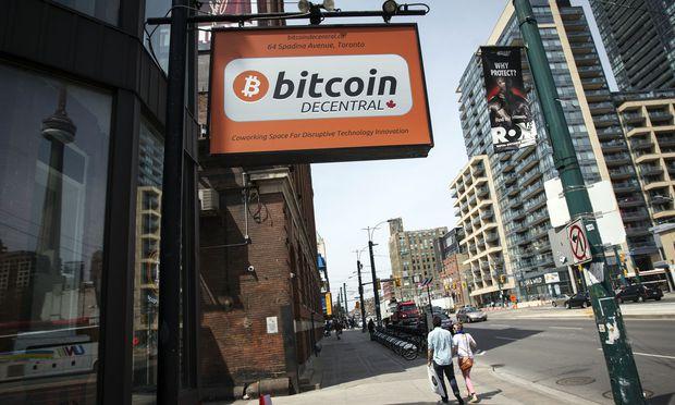 Der Bitcoin-Inkubator Decentral in Toronto. Auf der ganzen Welt sind im Zuge des Kryptobooms der vergangenen Jahre neue Bitcoin-Firmen entstanden.