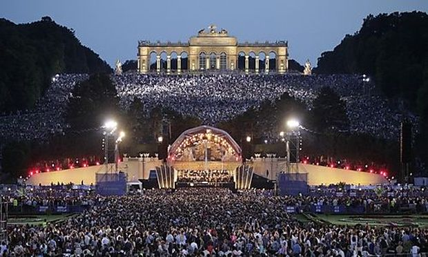 Sommernachtskonzert der Wiener Philharmoniker im Schloss Schoenbrunn