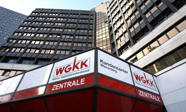Zentrale der Wiener Gebietskrankenkasse (WGKK)