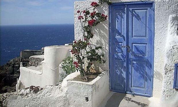 Travel Trip Santorini