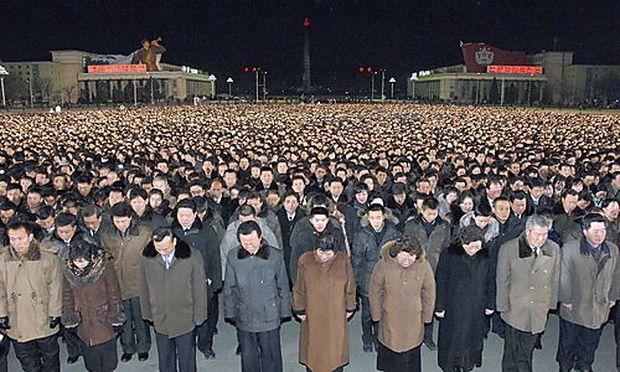 Massenrauer in Nordkorea.