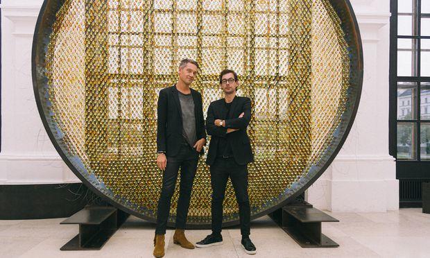 Patrik Fredrikson und Ian Stallard