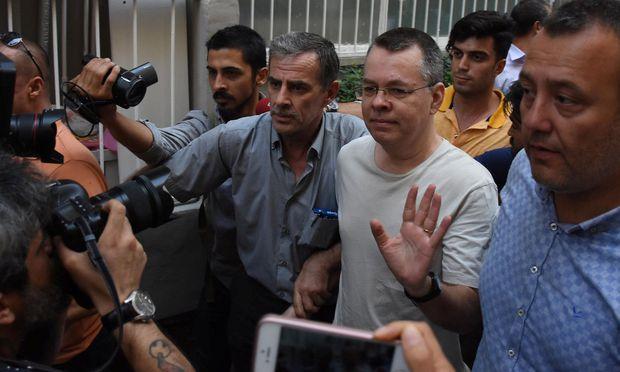 USA drohen Türkei in Fall von Pastor Sanktionen an