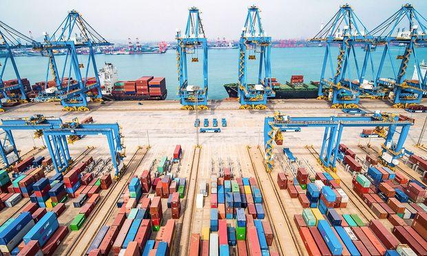 Die chinesische Industrieproduktion stieg um 8,5 Prozent.